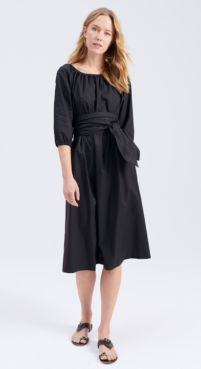 Cotton Poplin Sofia Dress