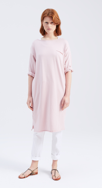 Fine Cotton Sweater Dress