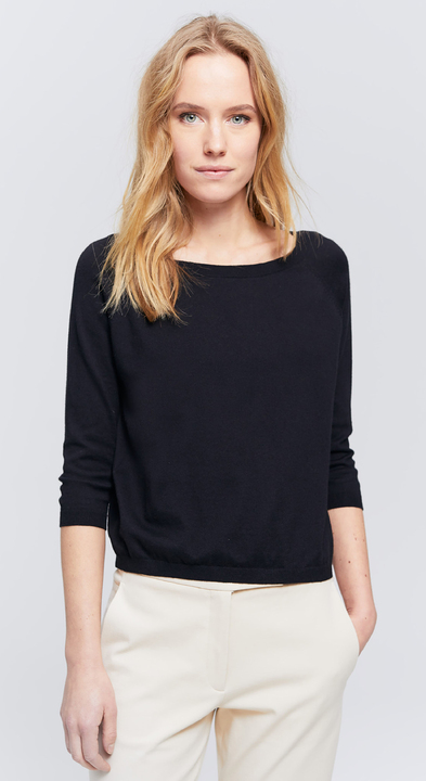 Fine Cotton Cashmere Sweater