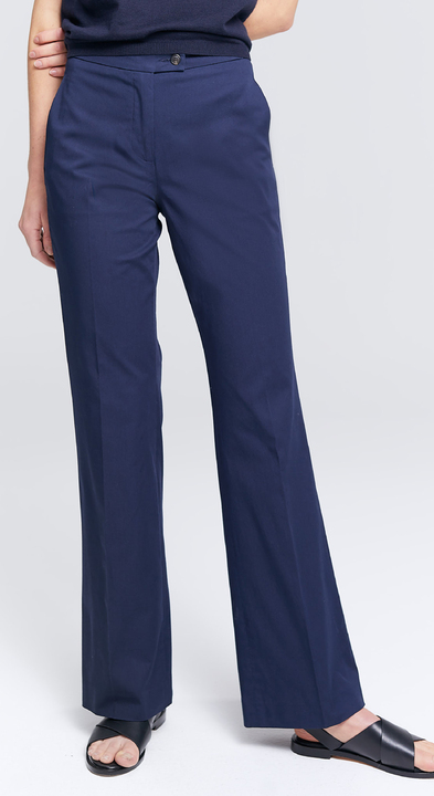 Cotton Twill Karen Trousers