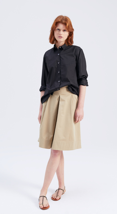 Cotton Twill Soho Skirt