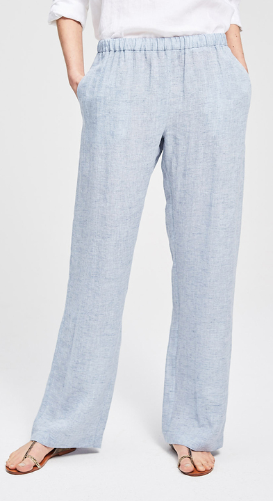 Chambray Drawstring Lou Trousers