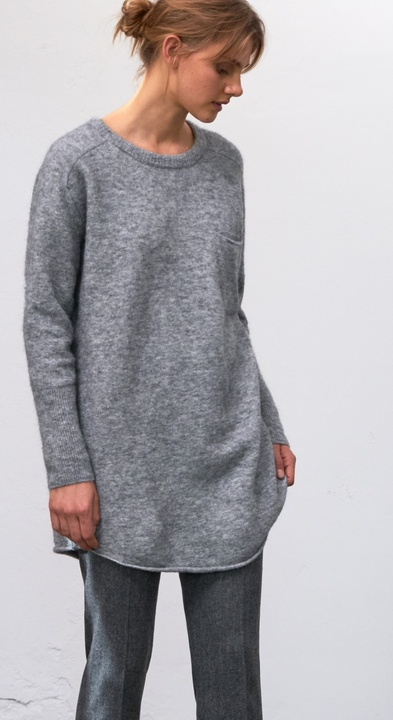Soft Alpaca Tunic