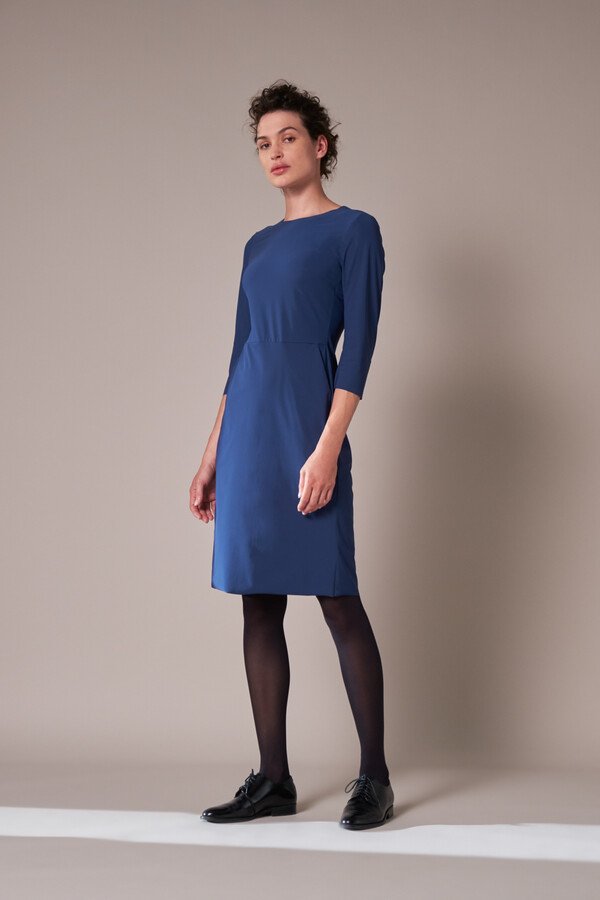 SERIOUS DRESS DEEP BLUE