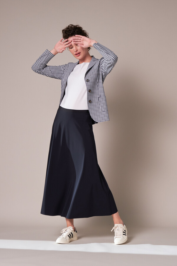 EASY FLAIR SKIRT BLACK