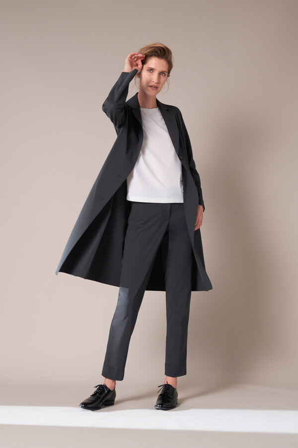 SPORTY COAT STEEL GREY