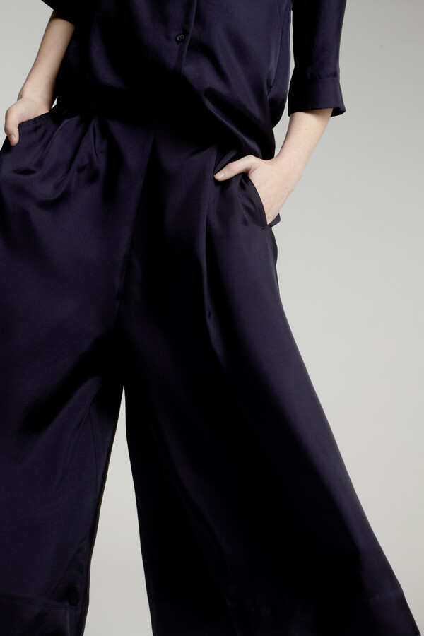 EASY SILKY CULOTTES JAPAN BLUE