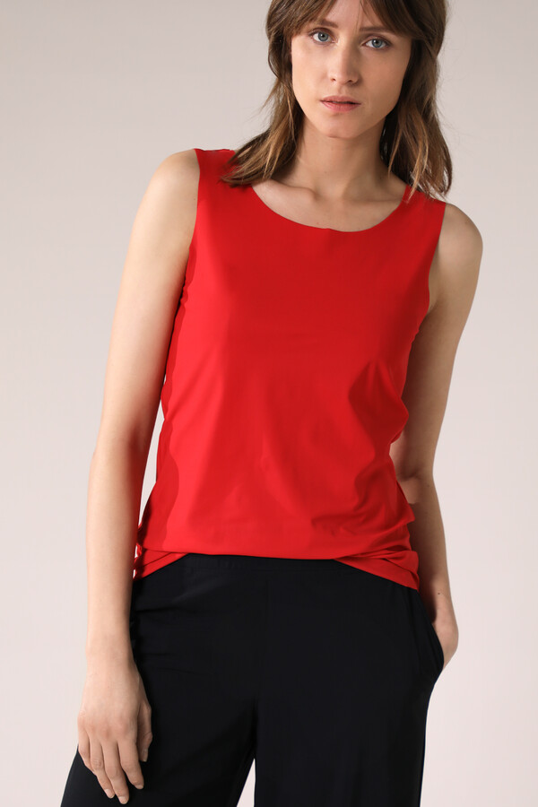 TANK TOP RADICAL RED