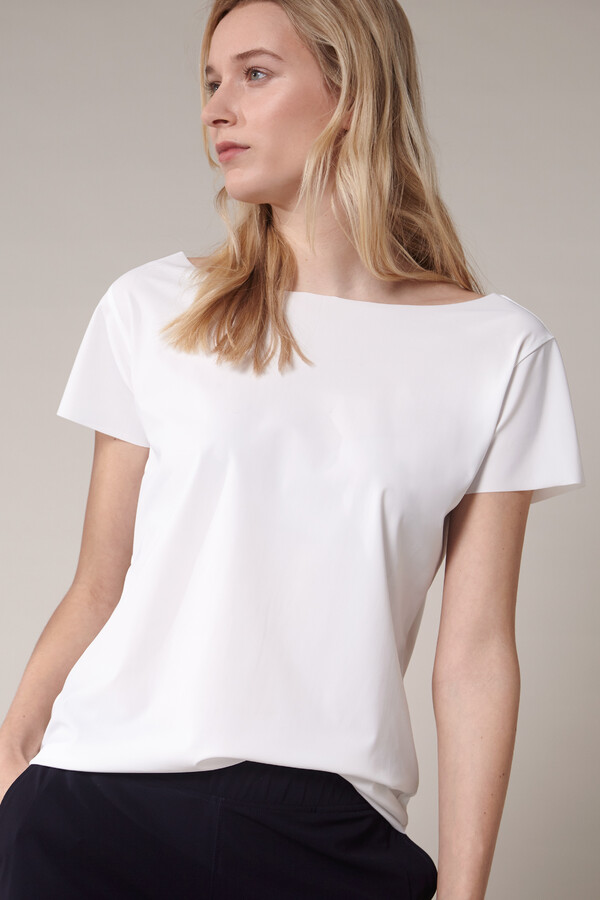 SHORT SLEEVE TEE OFF WHITE
