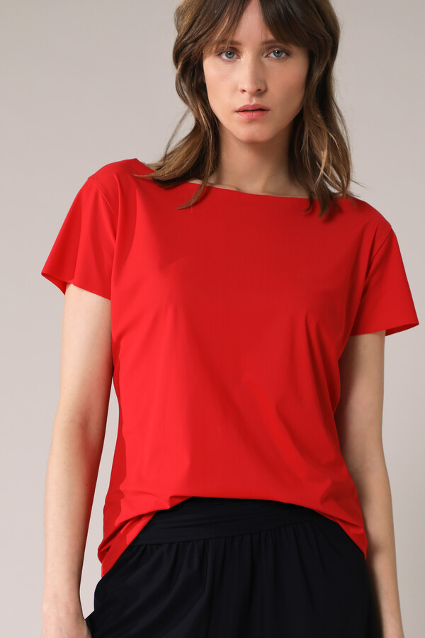 SHORT SLEEVE TEE RADICAL RED
