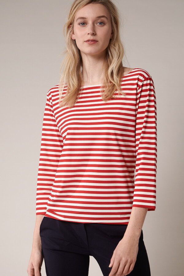 T-TOP STRIPE RADICAL RED