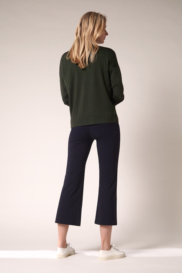 SOFT MERINO CARDIGAN GREEN