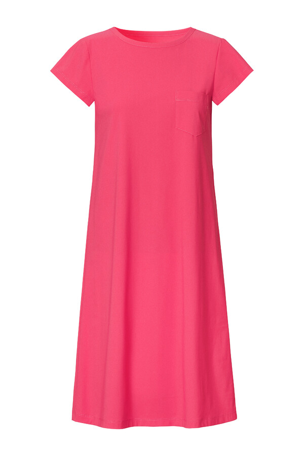 T-SHIRT DRESS RASPBERRY