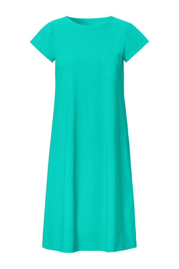 T-SHIRT DRESS JADE