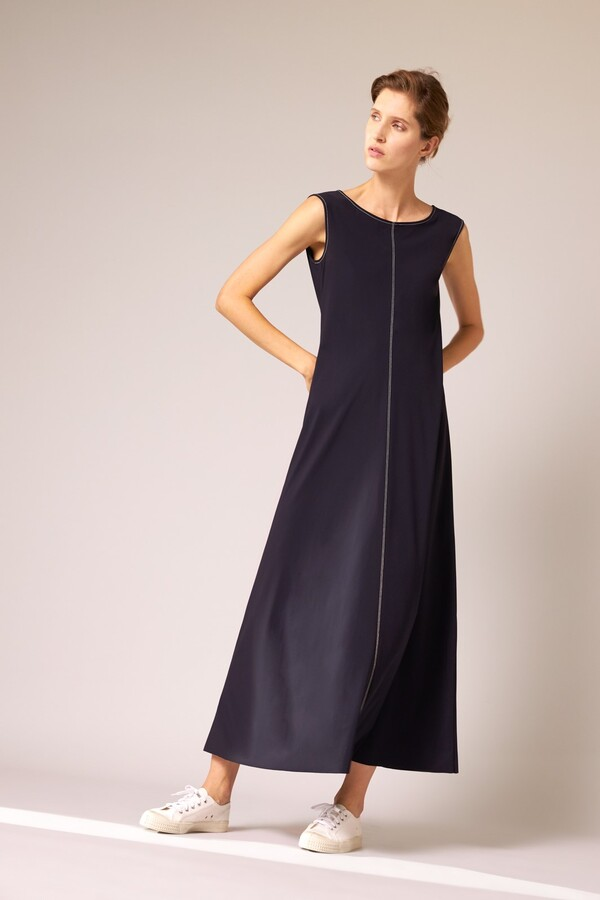 MAXI DRESS INK BLUE