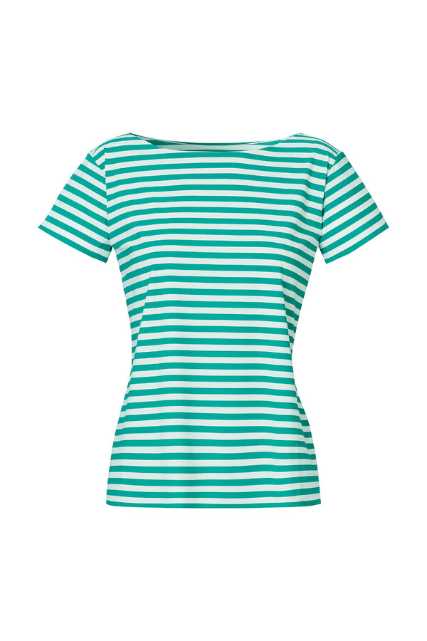 SHORT SLEEVE T-STRIPE JADE