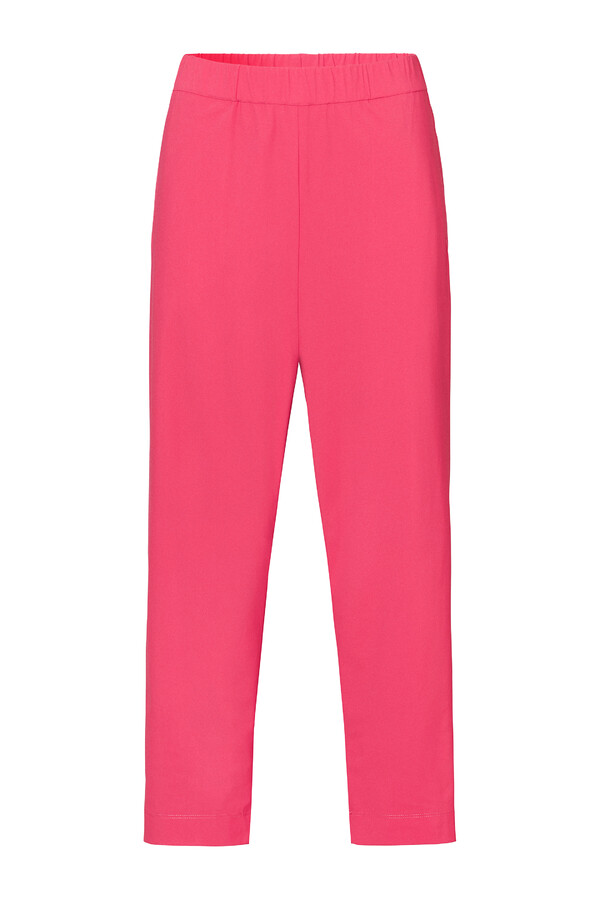 STRETCH EASY CHINO RASPBERRY