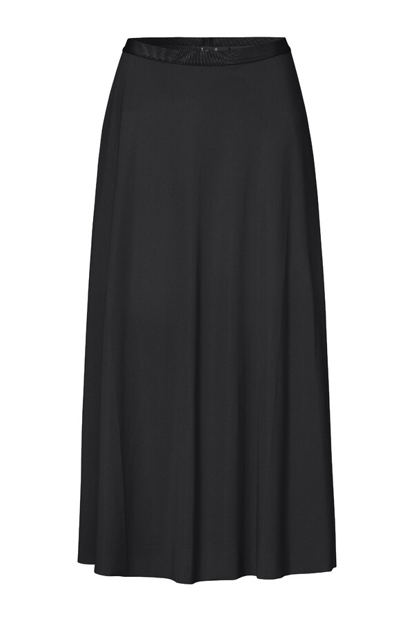FLAIR SKIRT BLACK