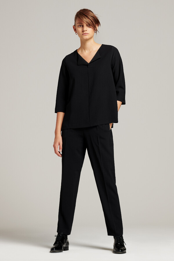 RELAXED TOP BLACK