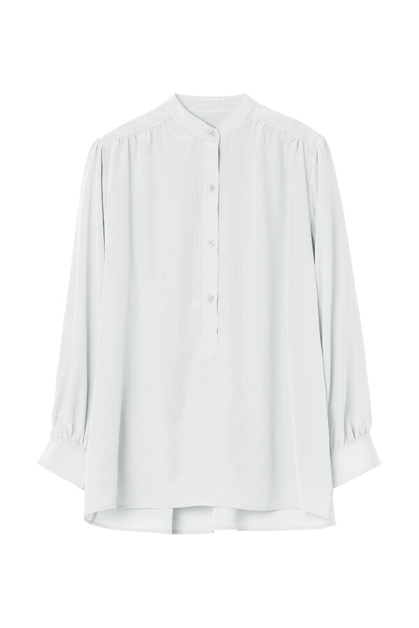 WIDE SLEEVE BLOUSE ICE