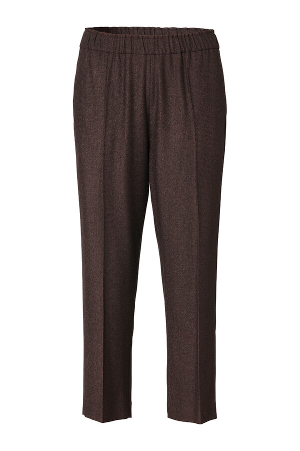 PULL ON PANTS WARM BROWN
