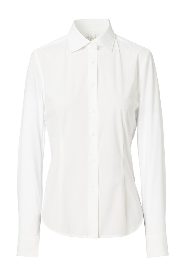 WAISTED SHIRT OFF WHITE