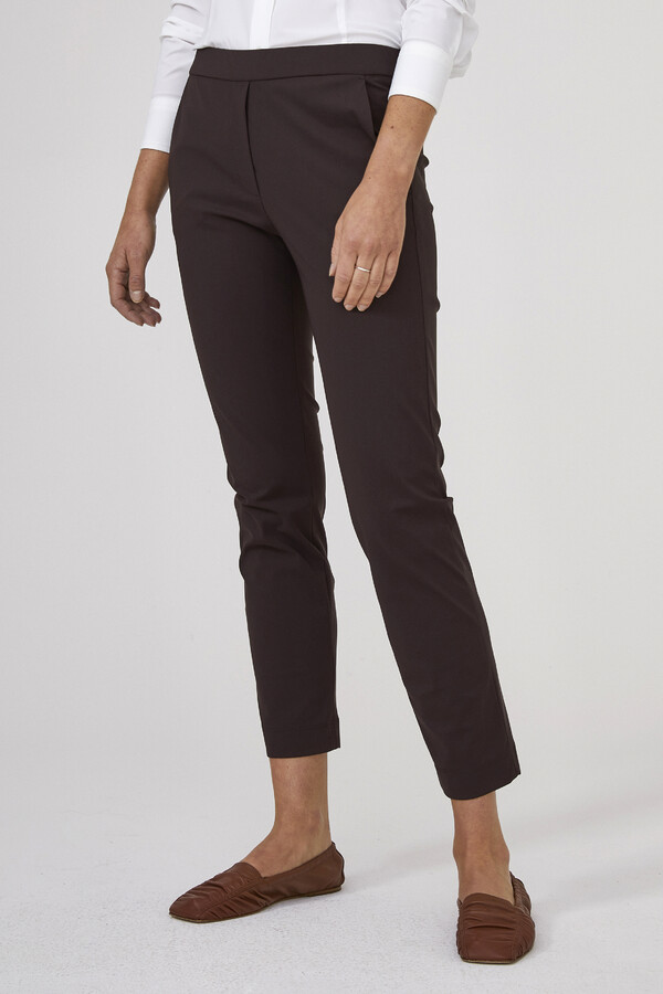 BASIC PANTS BROWN