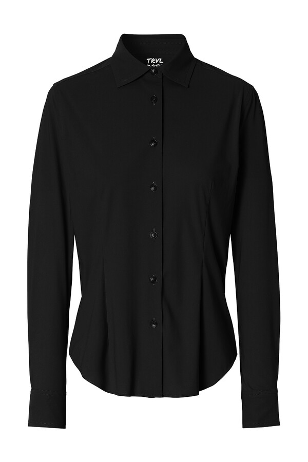 WAISTED SHIRT BLACK