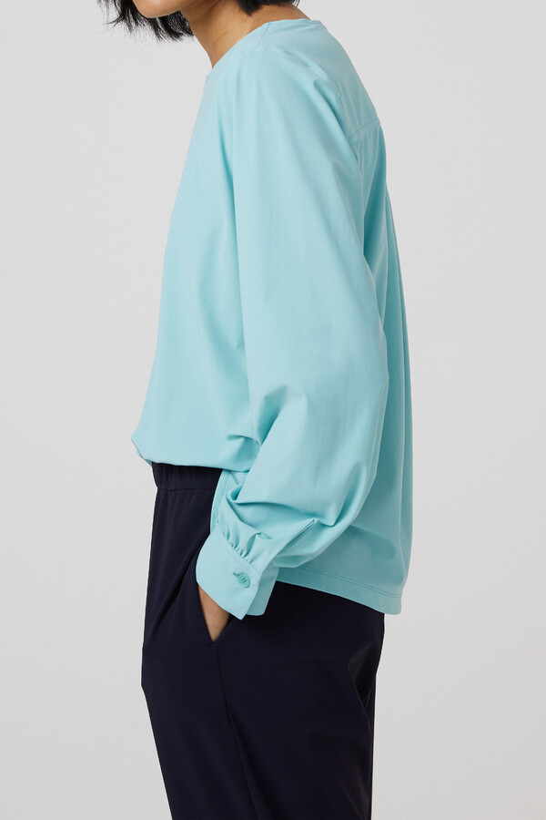 BOATNECK BLOUSE NEPTUNE GREEN