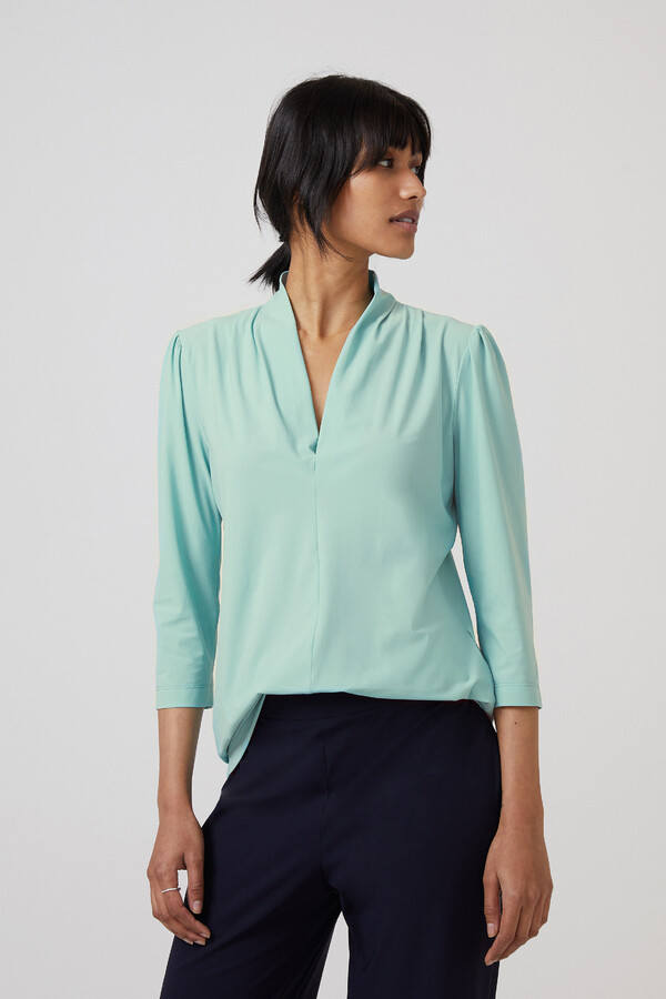 SHORT SLEEVE TOP NEPTUNE GREEN