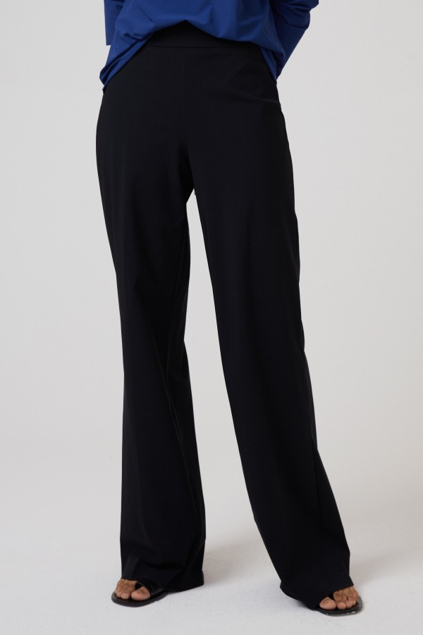 NEW WIDE PANTS BLACK