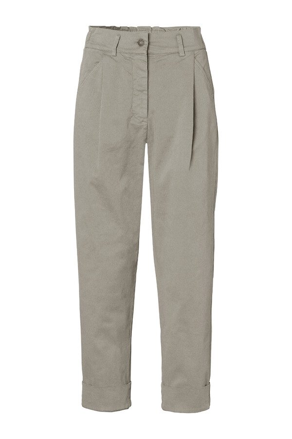 CASUAL TAPERED PANTS ARTICHOKE