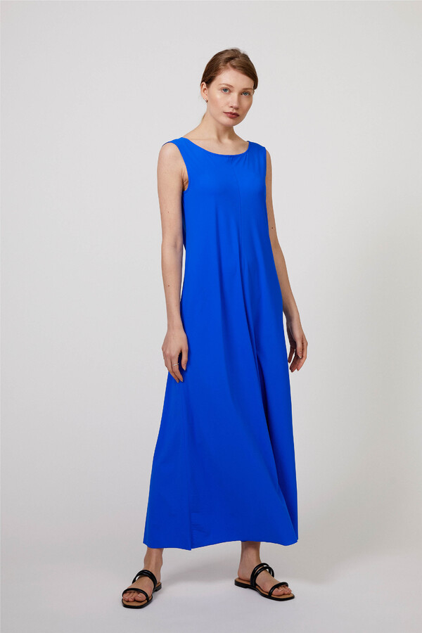 MAXI DRESS ROYAL BLUE