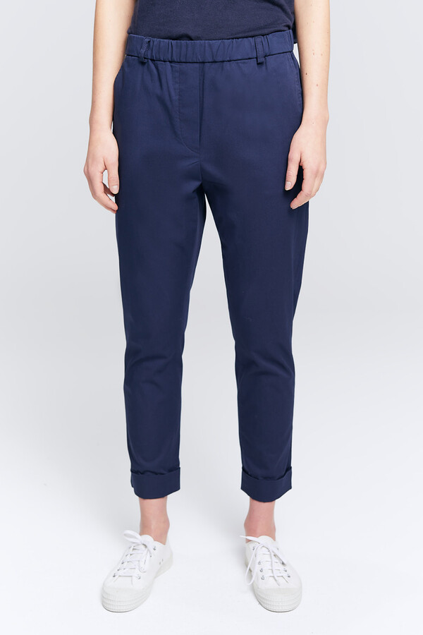 COTTON TWILL CHINO BROOKLYN NAVY