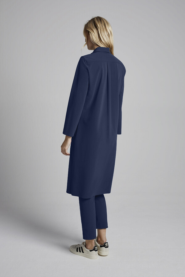 SHIRT DRESS WARM BLUE