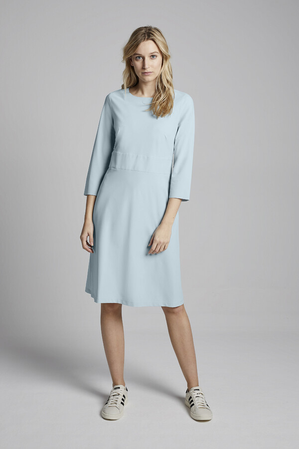 SUPER SHIFT DRESS AQUA