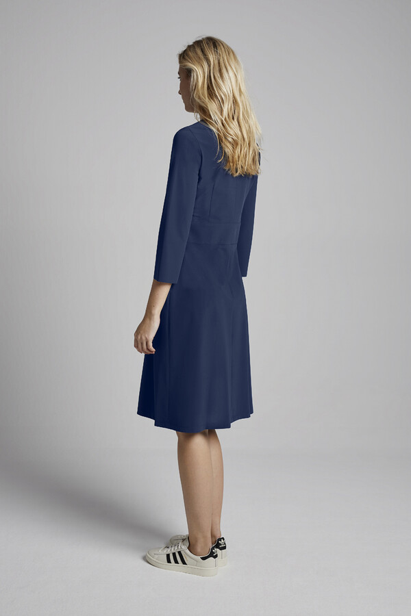 SUPER SHIFT DRESS WARM BLUE