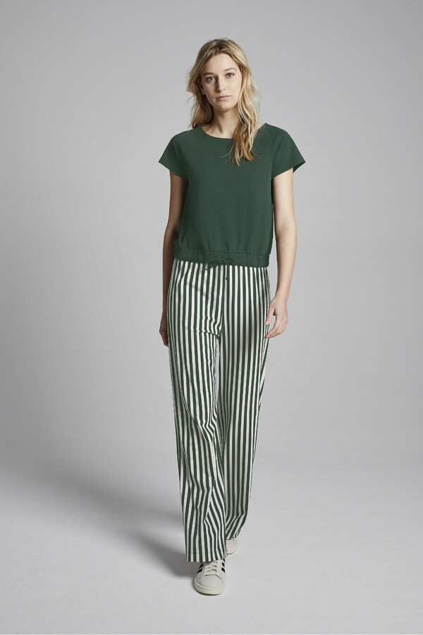 STRIPE NEW TRAVEL PANTS JUNGLE