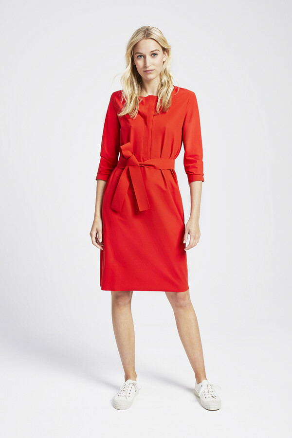 TUNIC DRESS ORANGE