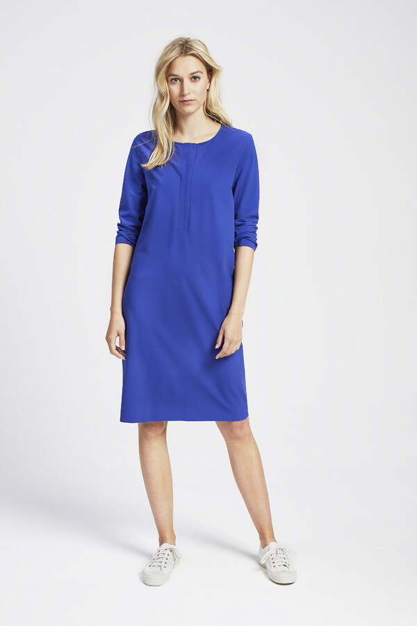 TUNIC DRESS CLEAR BLUE