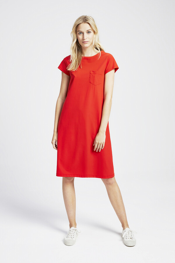 T-SHIRT DRESS ORANGE