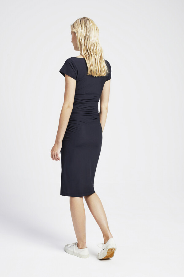 SKINNY DRESS BLACK