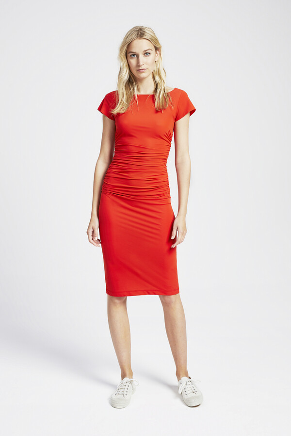 SKINNY DRESS ORANGE
