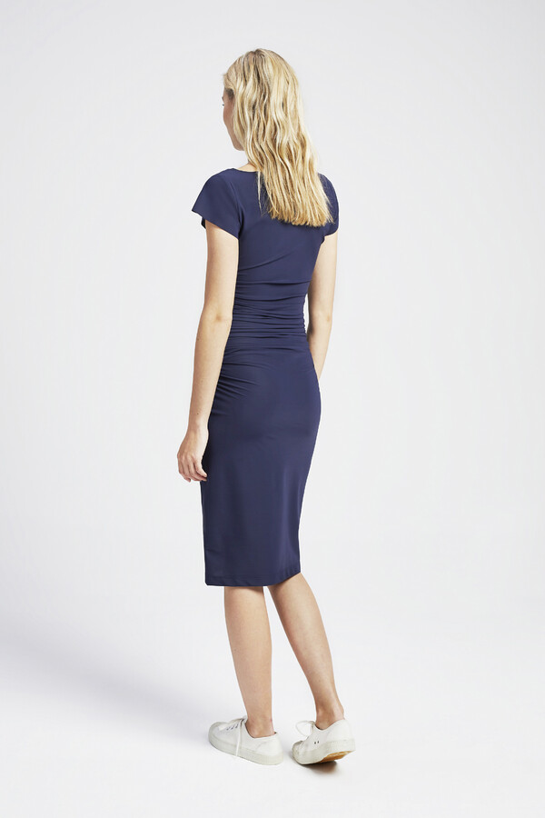 SKINNY DRESS SMOKEY BLUE