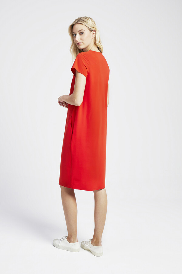 NEW POCKET DRESS ORANGE