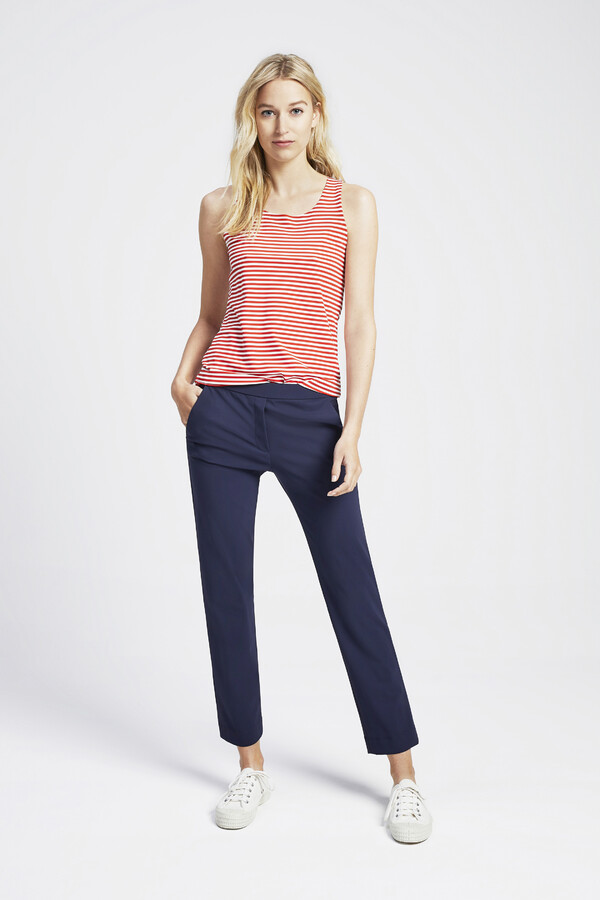 TANK TOP STRIPE ORANGE