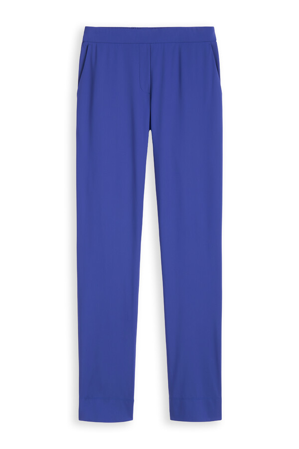 CASUAL DRAWSTRING PANTS CLEAR BLUE