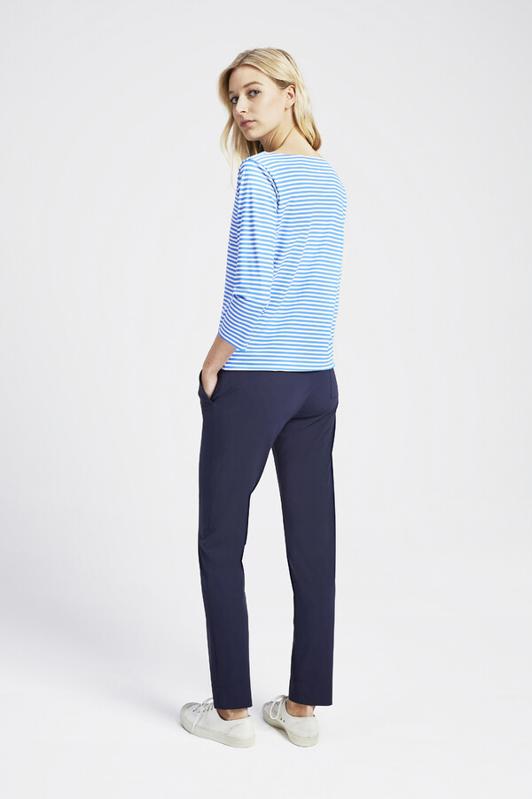 CASUAL DRAWSTRING PANTS SMOKEY BLUE