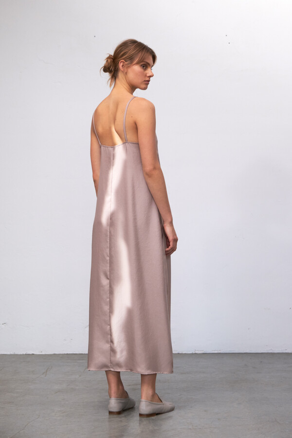SILKY SLIPDRESS JANE BLUSH