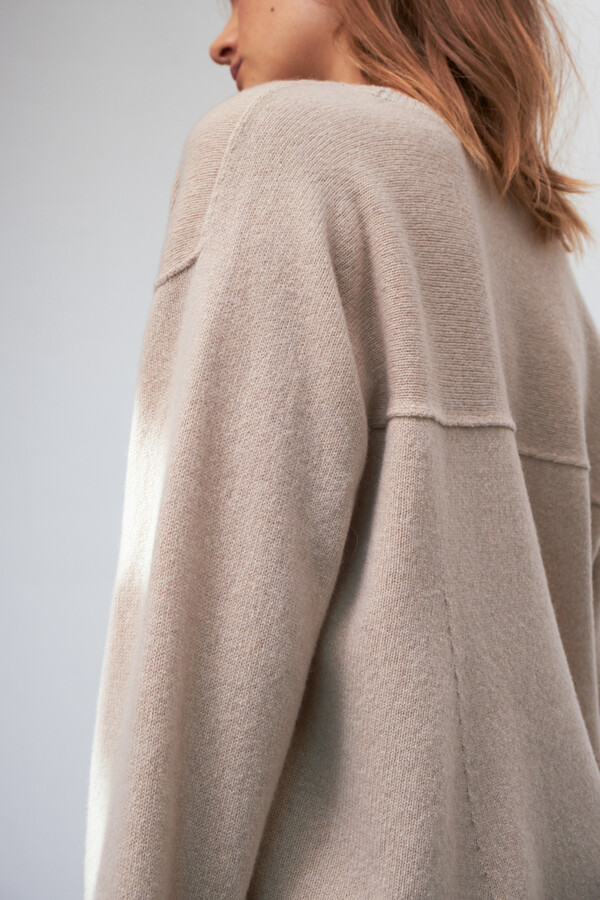 ECO CASHMERE KNIT NEW IVORY